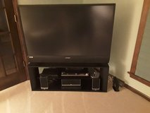 TV, stand and surround sound/DVD player in Lockport, Illinois
