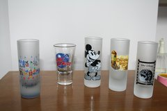 Disney Shot Glasses in Lakenheath, UK