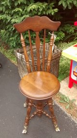 Vintage Piano Chair in Lockport, Illinois
