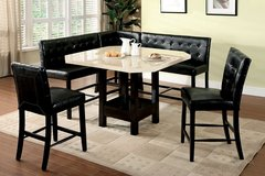 NEW! LUXURIOUS DESIGNER PUB DINING SET WITH BENCHES!! in Camp Pendleton, California