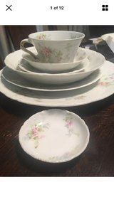 Theodore haviland Limoges antique china 7 piece place setting for 8 in Joliet, Illinois