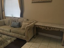 Sofa & Marble Table (set) Need to sell ! in Fairfield, California