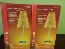 New In Box/ Pair of Accent Lamps in Fort Leavenworth, Kansas