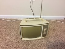 Vintage 1960 General Electic portable TV in Quantico, Virginia