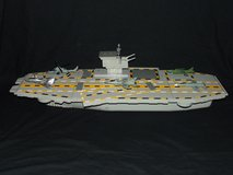 """USS Enterprise CVN 65 Toy Aircraft Carrier / Airplanes 34"""" Long in St. Charles, Illinois"""