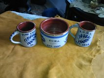 Fork Union Military Academy (FUMA) coffee mug and bowl in Camp Lejeune, North Carolina