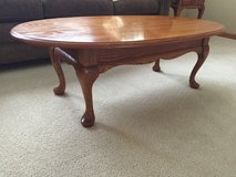 Oak Coffee Table and two (2) side tables in Joliet, Illinois