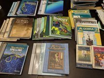 Abeka homeschool books 4th & 10th grade in Beaufort, South Carolina