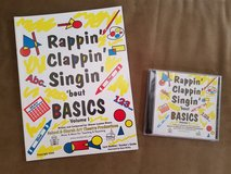 BNIB: Rappin', Clappin', Singin' 'bout Basics. Vol. 1 Book and CD in Fort Campbell, Kentucky