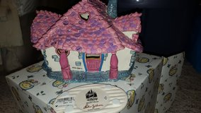 Disney Clayworks Minnie House. Signed in Yorkville, Illinois