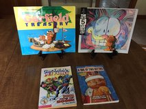 Garfield Books: 4th AND 5th Treasury, Pet Force #3, Tail of 2 Kitties - 4 by Jim Davis in Cherry Point, North Carolina