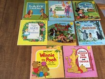 8 Walt Disney Presents Storybooks: 1965-68; incl Treasure Island, Jungle Book, Winnie the Pooh, ... in Cherry Point, North Carolina
