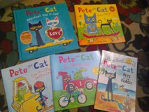 pete the cat book lot in Camp Lejeune, North Carolina