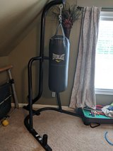 punching bag and stand in Perry, Georgia