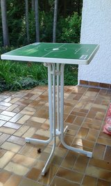 garden table- perfect for the world cup soccer games! in Grafenwoehr, GE