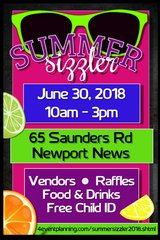 Summer Sizzler Vendor Fair in Fort Eustis, Virginia