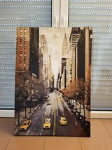 Canvas frame wall art of New York City taxi in Ramstein, Germany