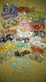 CLEARING OUT... ROCK BRACELETS (STRETCHY) in Fort Campbell, Kentucky