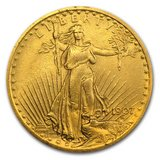 1907 Saint-Gaudens Gold Double Eagle XF in Leesville, Louisiana
