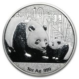 2011 China 1 oz Silver Panda BU (In Capsule) in Leesville, Louisiana
