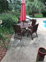 wooden Patio Set in Fort Benning, Georgia