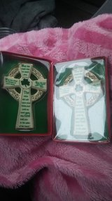 New Porcelain Irish crosses in Hopkinsville, Kentucky