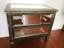 Mirrored Glass 2-Drawer in Houston, Texas