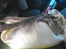 Gold stylish mini purse.Excellent condition in Hopkinsville, Kentucky