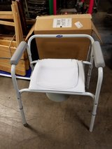 Invacare portable commode with interchangeable bucket/adapter & lid in Chicago, Illinois