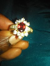 CZ..Size 9..Ruby costume ring in Hopkinsville, Kentucky