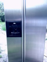 I'm selling a very nice Whirlpool stainless steel refrigerator in Beaufort, South Carolina