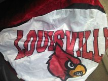 Extra Large Louisville Cardinal Ball..deflated in Hopkinsville, Kentucky