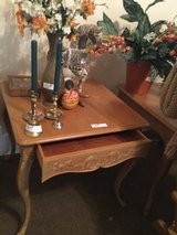 Wooden end tables (2) in Cleveland, Texas
