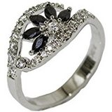 FLOWER STONE RING- SIZE 10 in Pearland, Texas
