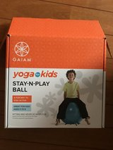 Yoga ball perfect for kids with autism or adhd in Okinawa, Japan