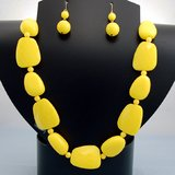 YELLOW BEAD SET- NEW in Pearland, Texas