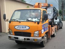 Safe & legal car disposal- get paid for your unwanted car in Osan AB, South Korea