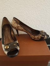 Coach shoes Size 7.5  EU (37.5/38) in Ramstein, Germany