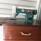 Keystone Sewing Machine w/Cabinet. in Chicago, Illinois