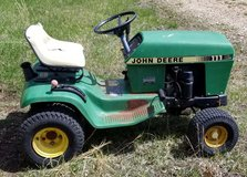 TWO JOHN DEERE RIDING MOWERS for PARTS OR REPAIR ONLY in Rolla, Missouri
