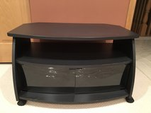 TV stand with glass doors in Elgin, Illinois
