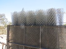 6' x 50' Chain link Fence and Parts in 29 Palms, California