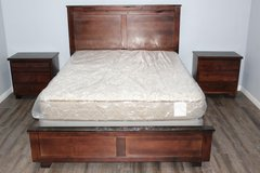 Queen Bedroom Set available with mattress and 2 night stands in Spring, Texas