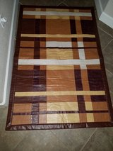 Genuine Leather Patchwork Area Rug in Fairfield, California