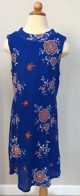Speechless Brand Size 7 Dress with Orange embroidered Flowers in Elgin, Illinois