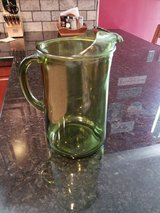 Vintage 64 oz Pitcher with Ice Lip Green in Sandwich, Illinois