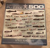 WWII Aircraft Puzzle in Aurora, Illinois