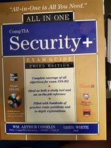 Security Plus Book in Ramstein, Germany