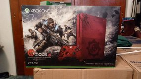 This is a very nice Brand new in box gears of war 2tb Xbox one system in Alamogordo, New Mexico