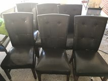 Dinning room chairs set of 6 in Fort Carson, Colorado